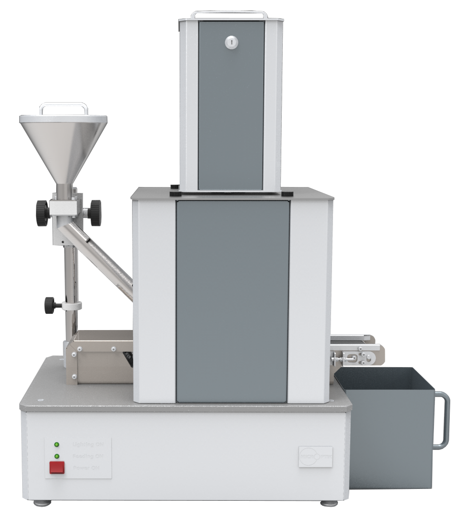 Particle and size analyzer