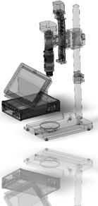 High Power Zoom Microscopy Far Eye Analytical Technology